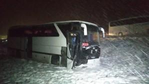 Sivasspor altyapı futbolcuları kaza yaptı.