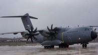 MSB kargo uçağı çığ bölgesine yardım ulaştırdı