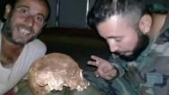 rejim askerlerinden idlip'te bir skandal daha
