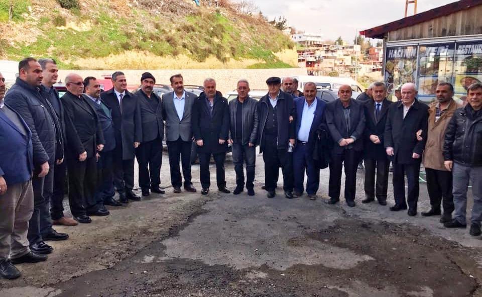 Cumhur İttifakı'na Belen'de muhtarlardan tam destek! Muhtarlar ile bir araya geldi (2)