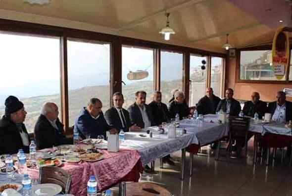 Cumhur İttifakı'na Belen'de muhtarlardan tam destek! Muhtarlar ile bir araya geldi (3)
