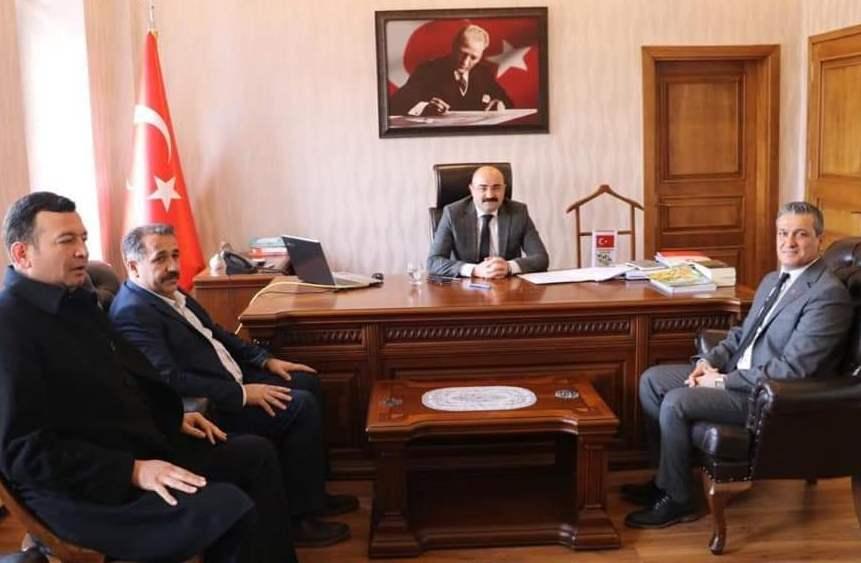 Cumhur İttifakı'na Belen'de muhtarlardan tam destek! Resmi Daire Ziyaretleri (1)