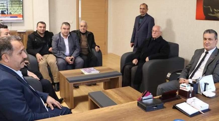 Cumhur İttifakı'na Belen'de muhtarlardan tam destek! Resmi Daire Ziyaretleri (4)