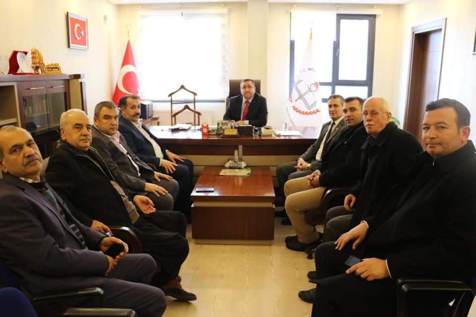 Cumhur İttifakı'na Belen'de muhtarlardan tam destek! Resmi Daire Ziyaretleri (5)
