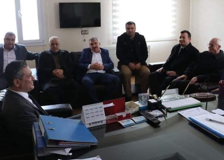 Cumhur İttifakı'na Belen'de muhtarlardan tam destek! Resmi Daire Ziyaretleri (6)