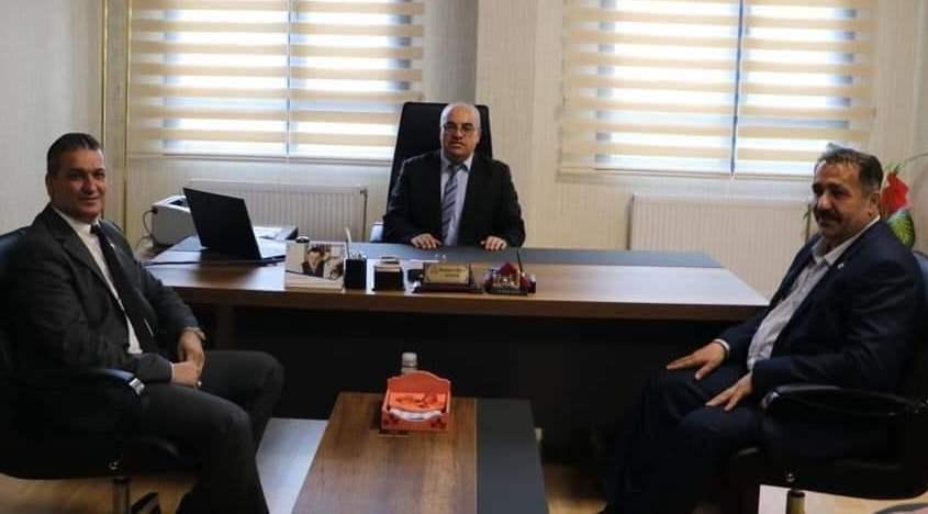 Cumhur İttifakı'na Belen'de muhtarlardan tam destek! Resmi Daire Ziyaretleri (7)