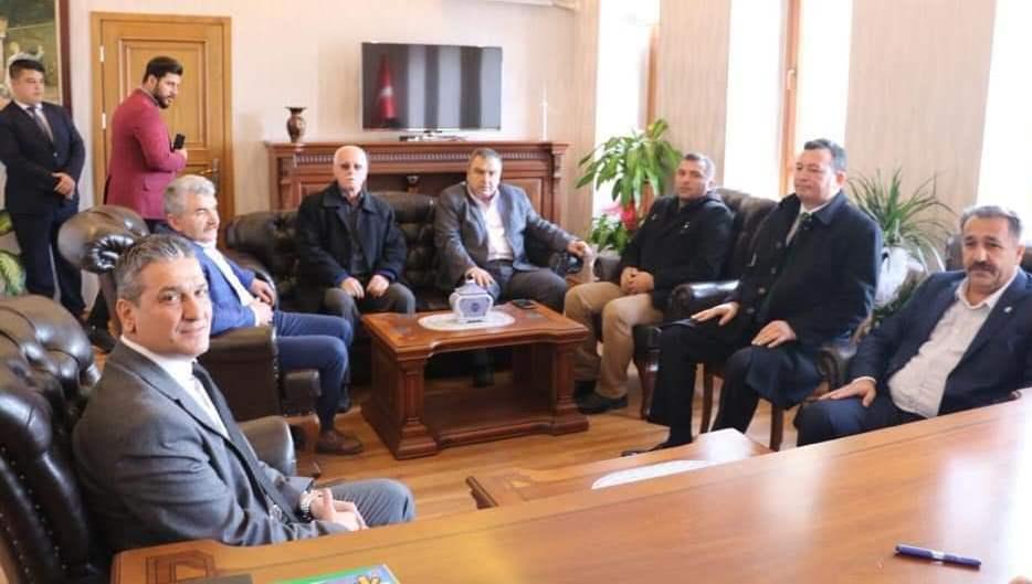 Cumhur İttifakı'na Belen'de muhtarlardan tam destek! Resmi Daire Ziyaretleri (8)