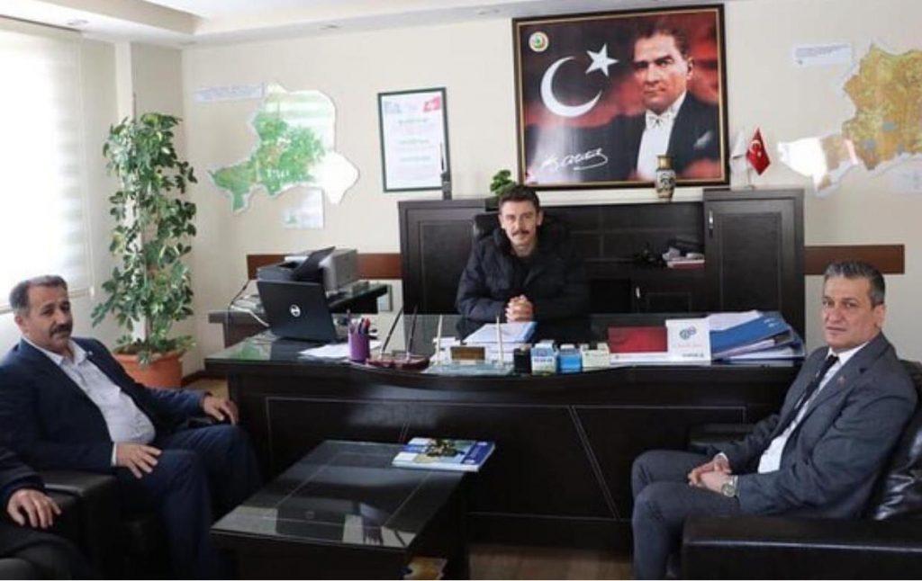 Cumhur İttifakı'na Belen'de muhtarlardan tam destek! Resmi Daire Ziyaretleri (9)
