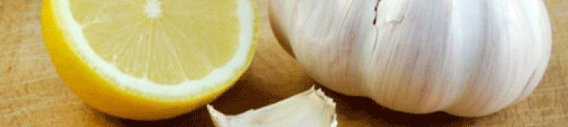 """Doğal Kür: """"Sarımsak ve Limon Suyu"""" nasıl yapılır, faydaları"""