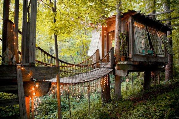 """Atlanta'nın Ağaç evleri """"RÜYA GİBİ"""" Fiyatı 230 dolar"""