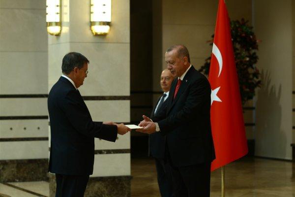 ABD Büyükelçisi resmen göreve başladı