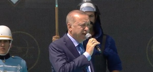 Erdoğan, Malazgirt Zaferi kutlamalarına katıldı