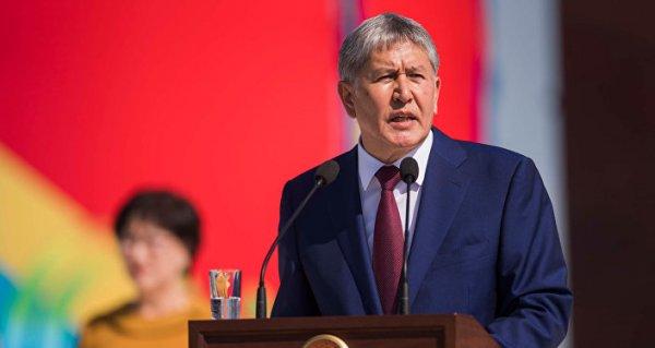 Eski Kırgızistan Cumhurbaşkanı Atambayev'in evine operasyon