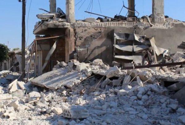 İdlib'e hava saldırısı: 4 ölü, 5 yaralı