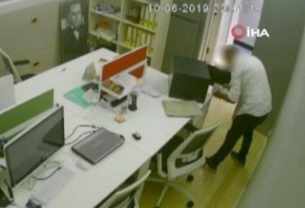 İstanbul'da çilingir çağırdı, patronunun kasasını soydu