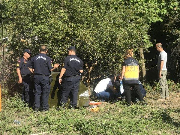 Kocaeli'de kamyon viyadükten düştü: 1 ölü