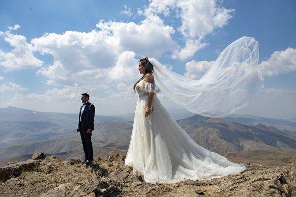 Tekelti Dağı'nda nikah töreni