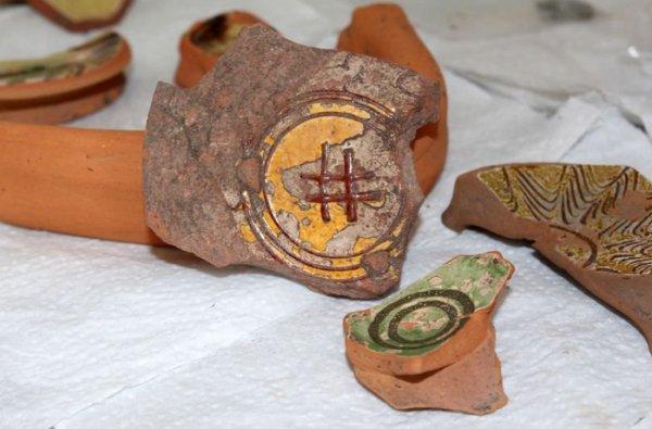 Yalova'da Bizans dönemine ait Hashtag işareti bulundu
