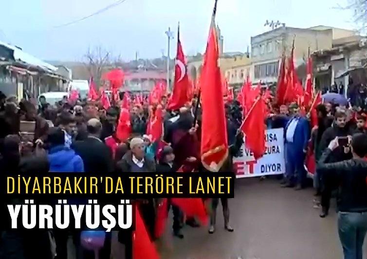 'Teröre Lanet için yürüdüler' 12 ilde halk sokaklarda!