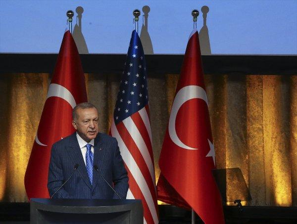 Cumhurbaşkanı Erdoğan, Amerikalı Müslümanlarla buluştu