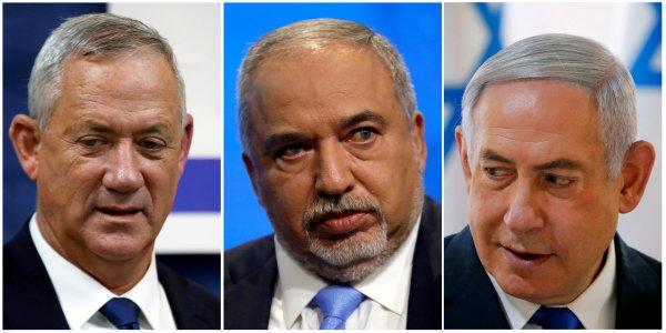 İsrailli Araplar, başbakanlık için Gantz'ı önerdi