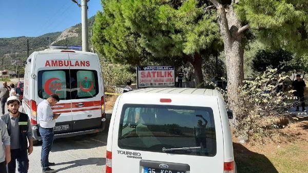 İzmir'de kozalak toplarken elektrik akımına kapılıp öldü