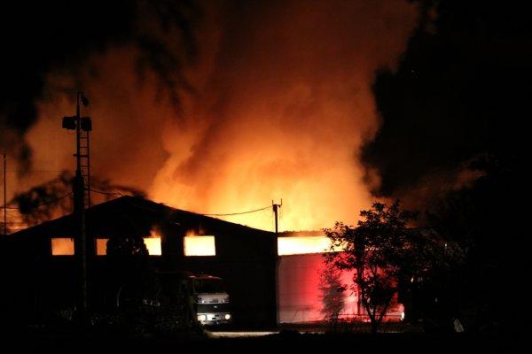 Kırklareli'nde tekstil fabrikasında yangın