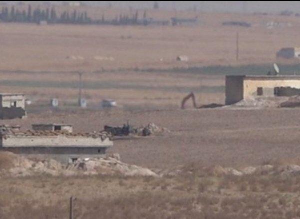 YPG, hendeklerin üzerini kapatmaya başladı
