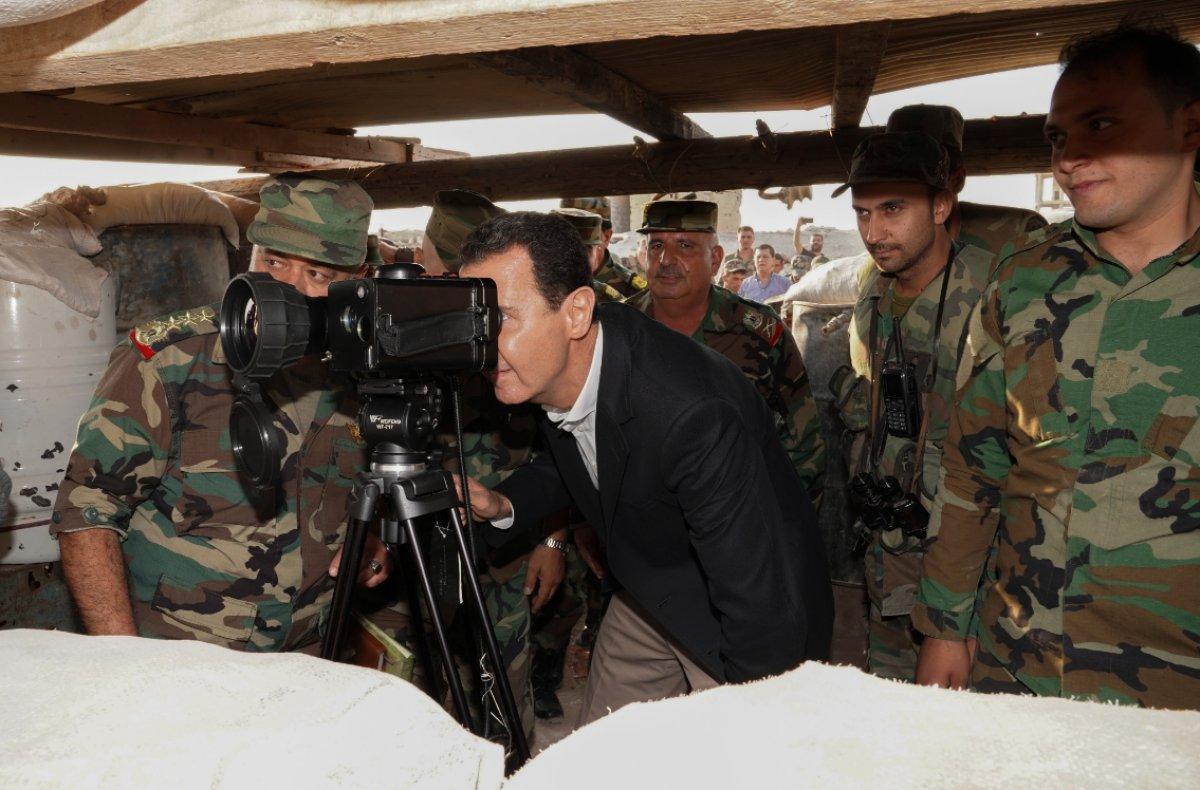 Dilipak yanıldı: Esad İdlib'de görüldü