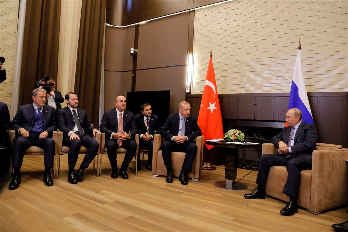 Soçi'de Erdoğan-Putin görüşmesi