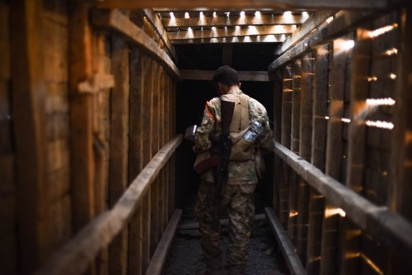 YPG'nin kazdığı tüneller tespit edildi