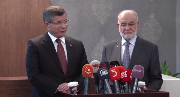 Davutoğlu açıkladı: Yeni parti yılbaşından önce kurulacak