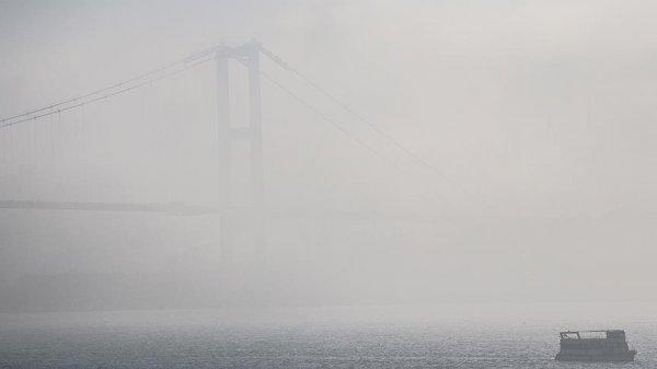 İstanbul'da vapur seferleri iptal edildi