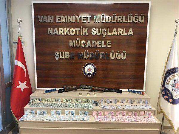 Van merkezli uyuşturucu operasyonunda 17 tutuklama