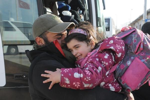 500 Suriyeli evine döndü
