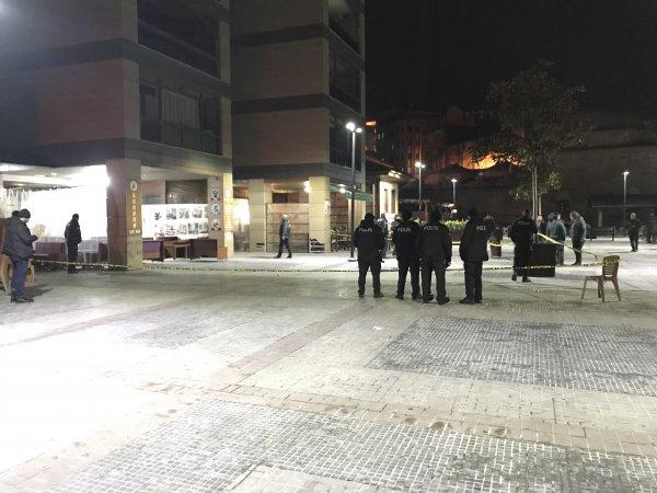 Bursa'daki silahlı saldırıyı güvenlik kamerası kaydetti