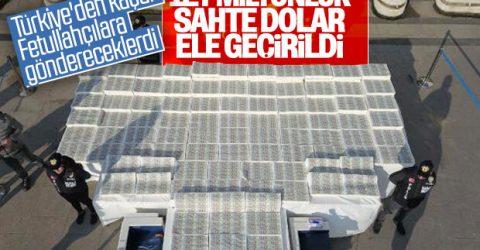 İstanbul'da 127 Milyon sahte dolar yakalandı.