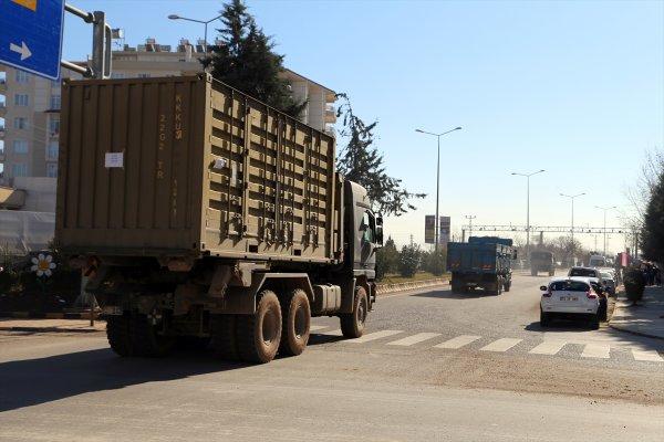 Suriye sınırına asker takviye edildi