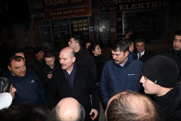 Süleyman Soylu: Elazığ'da 2002'den önceki binalar sorunlu