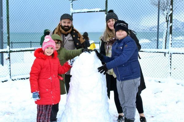 Karadeniz'de kar esareti; okullar tatil -5
