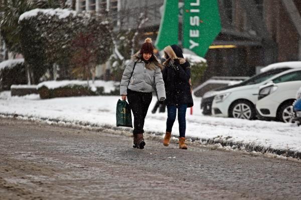 Karadeniz'de kar esareti; okullar tatil -8